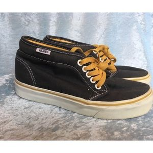 Vans Shoes | Vans Blue And Yellow High